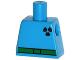 Part No: 973pb1997  Name: Torso Simpsons Green Belt and Purple Radioactivity Warning Pattern