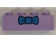 Part No: 3010pb250  Name: Brick 1 x 4 with Dark Azure Bow Tie Pattern (Krusty the Clown)