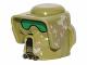Part No: 15311pb01  Name: Minifigure, Headgear Helmet SW Elite Corps Trooper with Camouflage Pattern