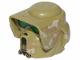 Part No: 15311pb02  Name: Minifigure, Headgear Helmet SW Elite Corps Trooper with Camouflage Pattern 2