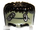 Part No: 93556pb02  Name: Minifigure, Headgear Head Top, Frankenstein Monster with Black Hair and Safety Pins Pattern