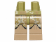 Part No: 970c69pb13  Name: Hips and Dark Tan Legs with SW Clone Trooper Camouflage Pattern