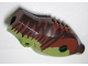 Part No: 98160c02pb01  Name: Dino Body Tyrannosaurus rex with Reddish Brown Top with Dark Brown Stripes Pattern