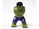 Part No: bb0646c01pb01  Name: Body Giant, Hulk with Messy Hair and Dark Purple Pants with Dark Red Pattern