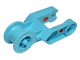 Part No: 65082  Name: Duplo Digger Bucket Arm Double with Locking Ring and Red Gaskets