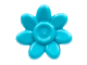 Part No: 65468e  Name: Minifigure, Utensil Trolls Flower, 7 Petals and Pin