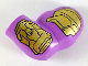 Part No: 10154pb04  Name: Minifigure, Body Part Arm Giant, Left with Gold Armor Pattern