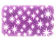 Part No: 37566  Name: Cloth Carpet Rug 4 x 6 with White Stars Pattern