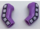 Part No: 981982pb117  Name: Minifigure, Body Part Arm, (Matching Left and Right) Pair with 5 White Squares Pattern