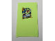 Part No: 57895pb078  Name: Glass for Window 1 x 4 x 6 with 'THE PLANT MONSTER' Poster Pattern (Sticker) - Set 70912