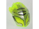 Part No: 11269pb02  Name: Hero Factory Helmet Visor with Clip with Flat Silver Face Guard Pattern Type 2