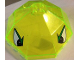 Part No: 2598pb02  Name: Windscreen 10 x 10 x 4 Canopy Octagonal with Eyes Pattern (Stickers) - Set 2161