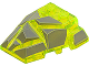 Part No: 64867pb01  Name: Wedge 4 x 4 Fractured Polygon Top with Dark Bluish Gray Facets Pattern (Rock Monster Giant)