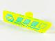 Part No: 65191pb01  Name: Minifigure, Utensil Gameplayer Label with Medium Azure Ninja Head and Stripes Pattern