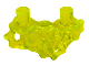 Part No: 65727  Name: Shoulders Extension, Slime with Organic Flow Detail and Two Head Pins