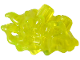 Part No: 66899  Name: Hips Extension Angled, Slime with Organic Flow Detail