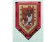 Part No: 22385pb088  Name: Tile, Modified 2 x 3 Pentagonal with Nexo Power Shield Pattern - Crimson Bat