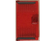 Part No: 60616pb042  Name: Door 1 x 4 x 6 with Stud Handle With Red Laser Bars Pattern (Stickers) - Set 76048