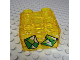 Part No: 3437pb079  Name: Duplo, Brick 2 x 2 with 2 Sparkling Green Gems Pattern