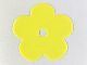 Part No: clikits056  Name: Clikits Icon Accent, Rubber Flower 5 Petals 7 x 7