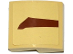 Part No: 15068pb036L  Name: Slope, Curved 2 x 2 with SW Wookiee Gunship Pattern 1 Model Left Side (Sticker) - Set 75084
