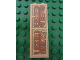 Part No: 2454pb046  Name: Brick 1 x 2 x 5 with Hieroglyphs, Scarab and Eye on Top Pattern (Sticker) - Set 7325