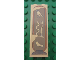 Part No: 2454pb048  Name: Brick 1 x 2 x 5 with Hieroglyphs, Bird on Top Pattern (Sticker) - Set 7326