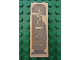 Part No: 2454pb050  Name: Brick 1 x 2 x 5 with Hieroglyphs, Snake on Top Pattern (Sticker) - Set 7326