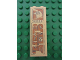 Part No: 2454pb051  Name: Brick 1 x 2 x 5 with Hieroglyphs, Bird Head on Top Pattern (Sticker) - Set 7307