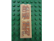 Part No: 2454pb052  Name: Brick 1 x 2 x 5 with Hieroglyphs, Small Bird and Scarab on Top Pattern (Sticker) - Set 7307