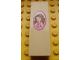 Part No: 2454pb069  Name: Brick 1 x 2 x 5 with Girl Picture in Dark Pink Frame Pattern (Sticker) - Set 3315