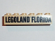 Part No: 2456pb007  Name: Brick 2 x 6 with Black LEGOLAND FLORIDA Pattern