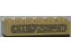 Part No: 2456pb011  Name: Brick 2 x 6 with Hieroglyphs Pattern (Sticker) - Set 7327