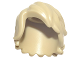 Part No: 25409  Name: Minifigure, Hair Mid-Length Tousled with Side Part
