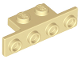 Part No: 28802  Name: Bracket 1 x 2 - 1 x 4 with Two Rounded Corners at the Bottom