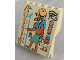 Part No: 30156px4  Name: Panel 4 x 6 x 6 Sloped with Hieroglyphs, Snake and Eagle Pattern