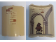 Part No: 30562pb057  Name: Cylinder Quarter 4 x 4 x 6 with Brick Wall Outside and Sorting Hat, Columns with Arches, and Brick Wall Inside Pattern (Stickers) - Set 75948