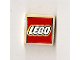 Part No: 3068bpb0184  Name: Tile 2 x 2 with Groove with Lego Logo Pattern (Sticker) - Sets 3432 / 3433