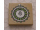 Part No: 3068bpb0631  Name: Tile 2 x 2 with Groove with Ammunition Drum Pattern (Sticker) - Set 7298