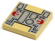 Part No: 3068bps1  Name: Tile 2 x 2 with SW Rebel Mechanical Pattern