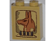 Part No: 3245cpb007  Name: Brick 1 x 2 x 2 with Inside Stud Holder with Anubis Head Pattern (Sticker) - Set 7327