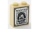 Part No: 3245cpb104  Name: Brick 1 x 2 x 2 with Inside Stud Holder with Sirius Black Minifigure on Wanted Poster Pattern (Sticker) - Set 75955