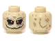 Part No: 3626cpb0889  Name: Minifigure, Head Alien with Red Eyes and Stitched Mouth Pattern (Scarecrow) - Hollow Stud