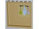Part No: 59349pb058  Name: Panel 1 x 6 x 5 with Herbs, Tea Towel and Ladle Pattern on Inside (Sticker) - Set 3315