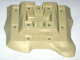 Part No: 64649  Name: Baseplate, Raised 18 x 22 No Studs Two Level, 11 Holes