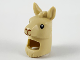 Part No: 66972pb01  Name: Minifigure, Headgear Head Cover, Costume Llama Head and Neck with Black Eyes, Reddish Brown Nose and Mouth Pattern