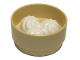 Part No: 72601c01  Name: Duplo Food Bamboo Steamer with White Baozi Dumplings