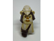 Part No: 92750pb01  Name: Minifigure, Head Modified SW Ewok with White Skull Hat and Dark Brown Pouch Pattern
