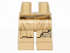 Part No: 970c00pb0402  Name: Hips and Legs with SW Frayed Robe and Bandage on Left Leg Pattern