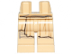 Part No: 970c00pb1047  Name: Hips and Legs with SW Frayed Robe and Bandage on Right Leg Pattern